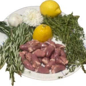 Kyllingehjerter-halal